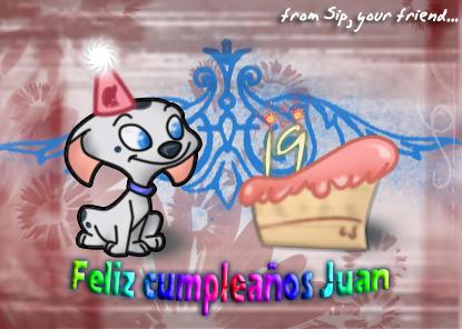 Dalmatian birthday...