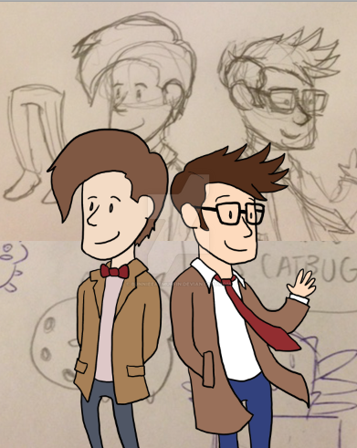 doctor who (matt smith and david tennant) by