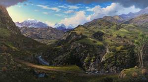'Tapuae O Uenuku' - The Mighty Peaks of Aotearoa 1 by nprovis