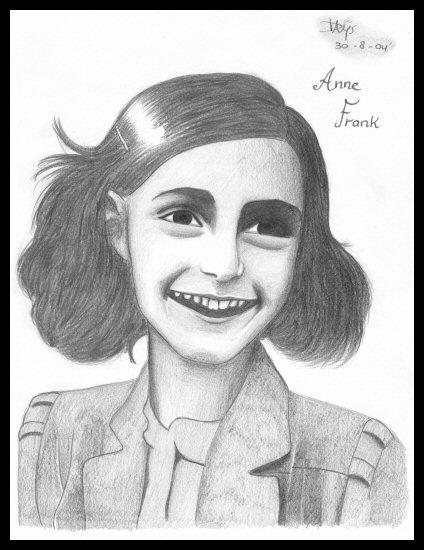 How To Draw Anne Frank
