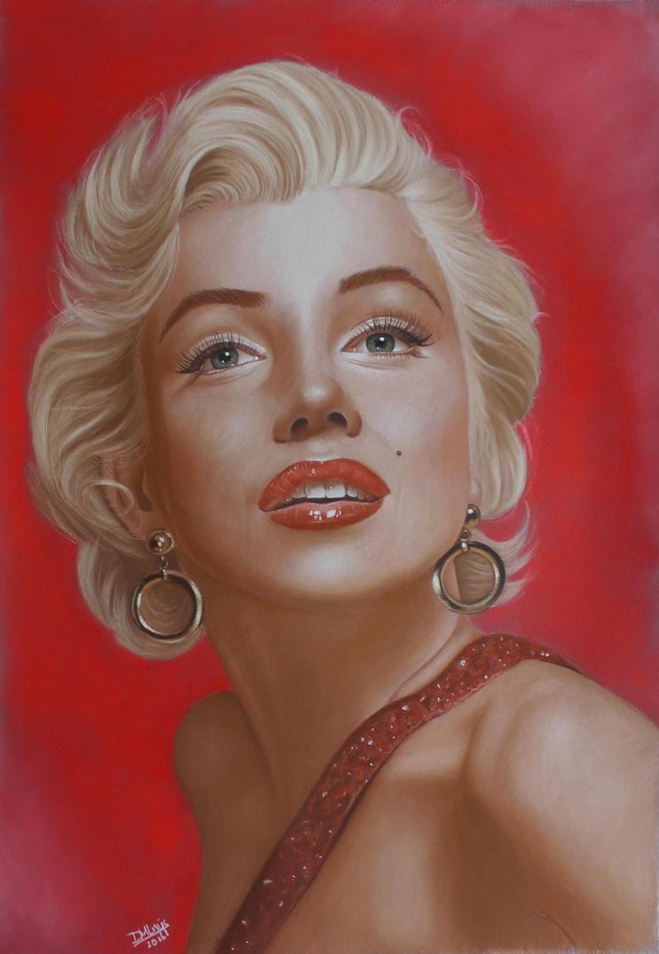 Marilyn Monroe by LittleRamona