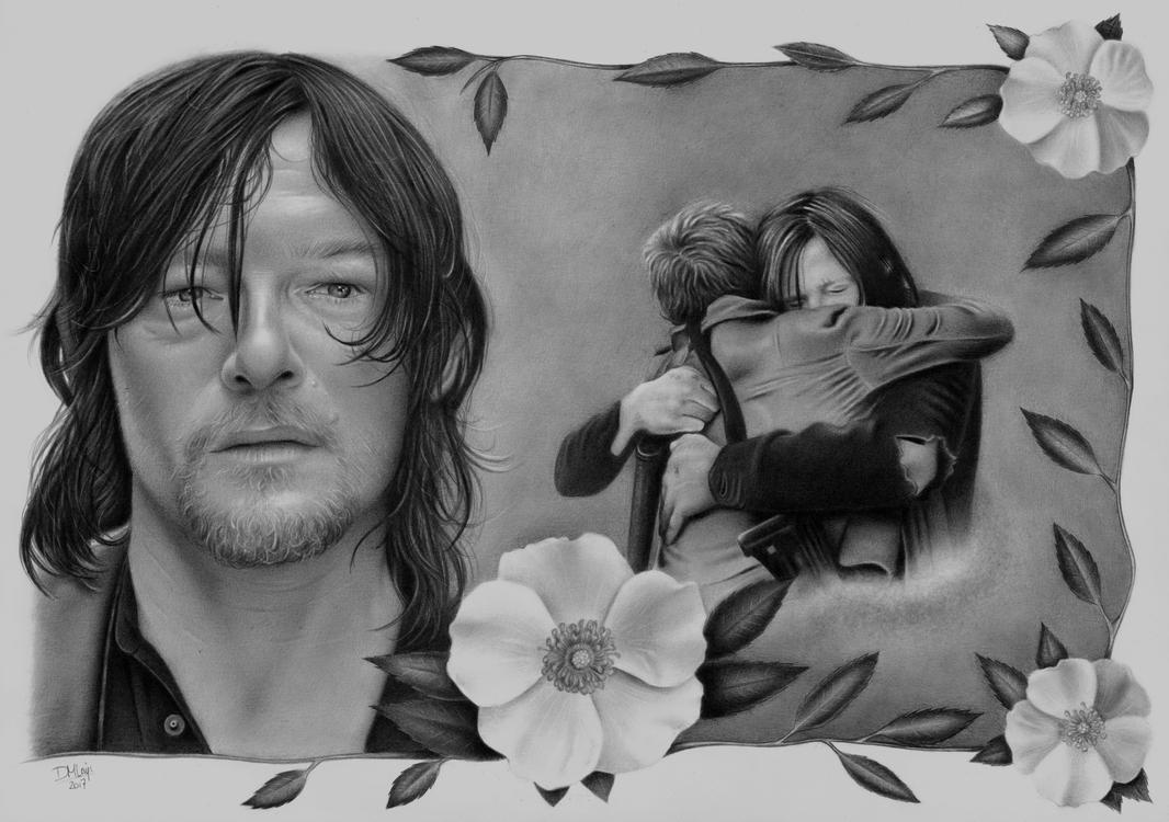 Daryl and Carol - the Cherokee Rose by LittleRamona