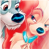 Lady and the Tramp icon by taranee9