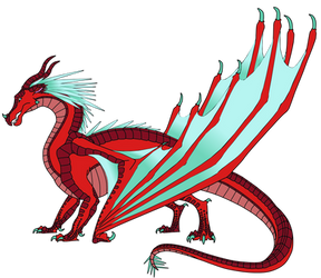 Snowfire - SkyWing/IceWing OC