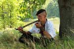 resting Cossack