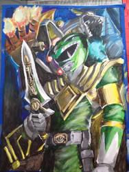 Go Green Ranger... GO! by ToraKingz