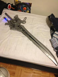FFXV (Formerly Versus XIII) Engine Sword - Fin by ToraKingz