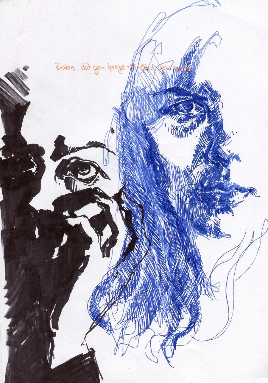 Selbstportrait by JujiBla