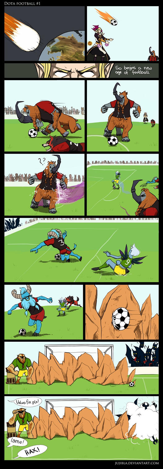 Dota Football #1 by JujiBla