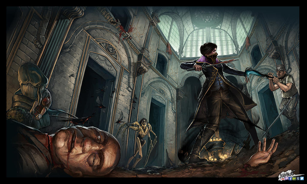 Dishonored Fan Art Corvo Video Games Wallpapers Hd: Dishonored Fanart By JujiBla On DeviantArt