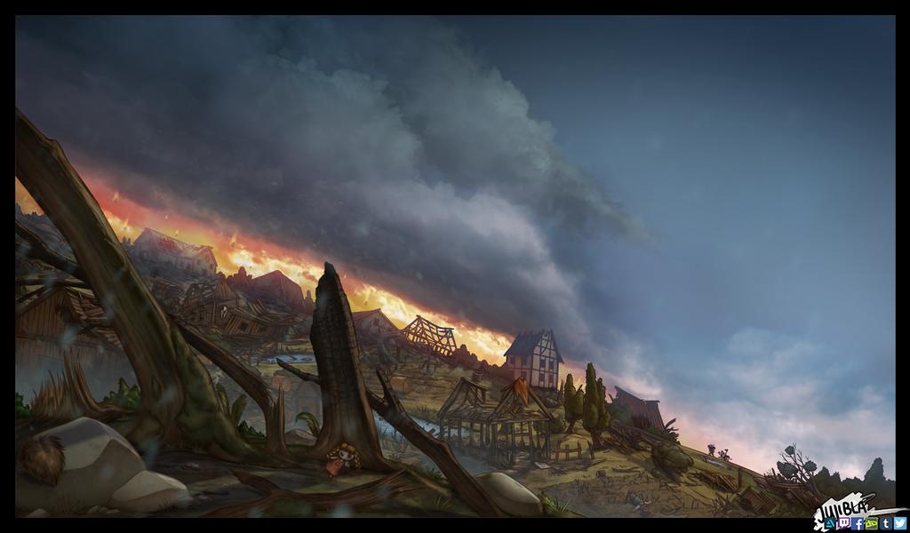 Nitas Adventures - Lost Village by JujiBla