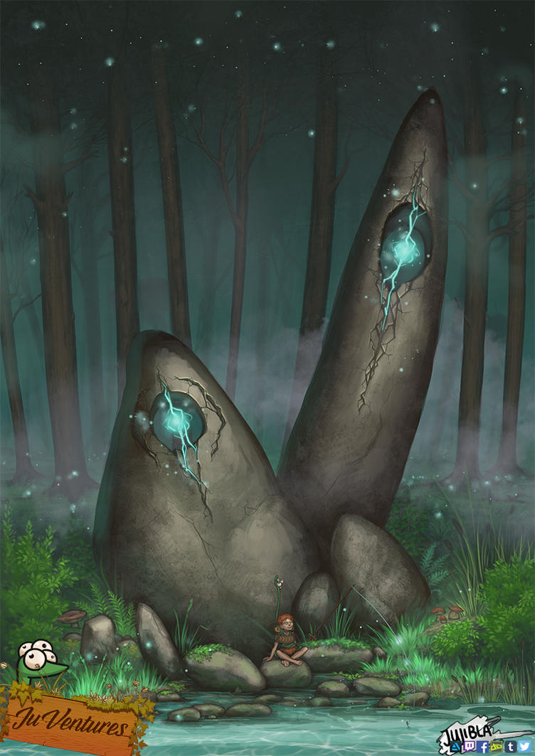 Nitas Adventures - Magic Forest by JujiBla