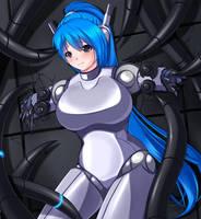 i am a Robot . i am a Broken by YukoRobotwoman