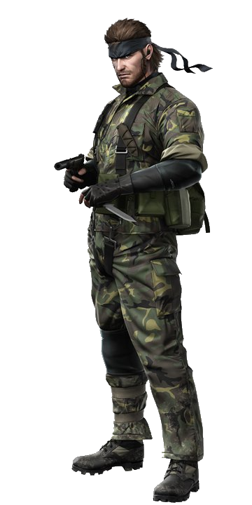 Naked Snake (Metal Gear Solid 3: Snake Eater) by