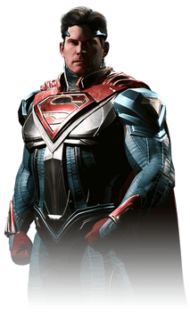 Superman - Injustice 2 Render