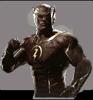 The Flash - Injustice 2 Render