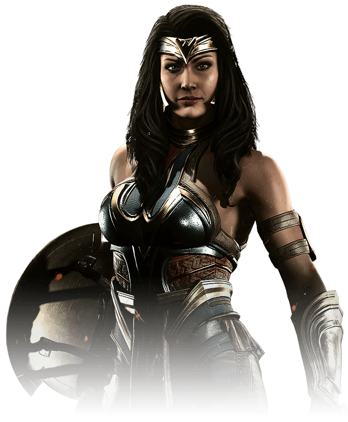 Wonder Woman V.2 - Injustice 2 Render by YukiZM
