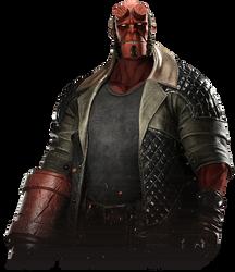 Hellboy - Injustice 2 Render