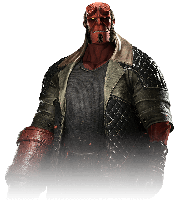 Hellboy - Injustice 2 Render by YukiZM