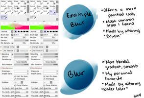 Paint Tool Sai 2 Blur Setting by Lilli-Loves-Carrots