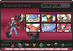 Pokemon Y- Trainer Card by Scorpionspear77