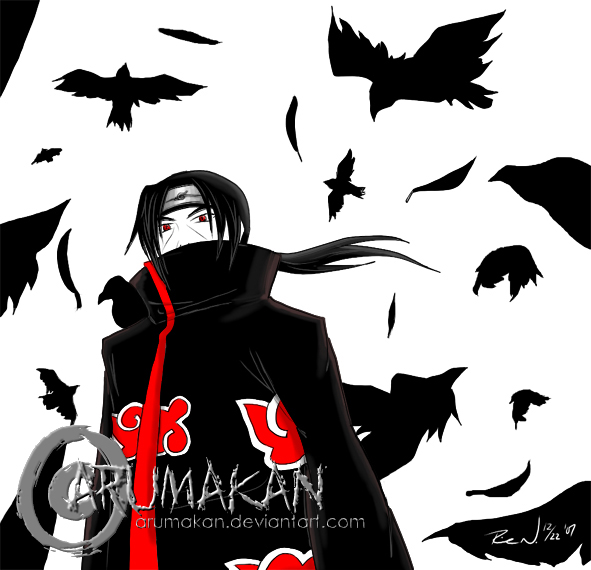 Gallery For > Itachi Uchiha Crows