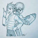 [Sketch] - Netto and Rockman