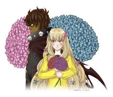 [Persona Q] - Zen and Rei by Arumakan