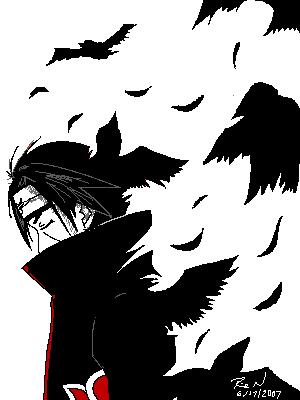 Crow Itachi Background Anime Best Images