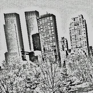 Manhattan City View by Animeluver733