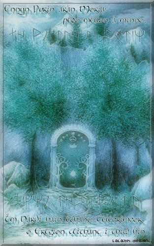 The Doors of Moria by JustLalaith