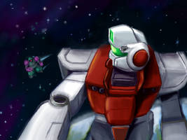 RGM-79 - Encounter in Space