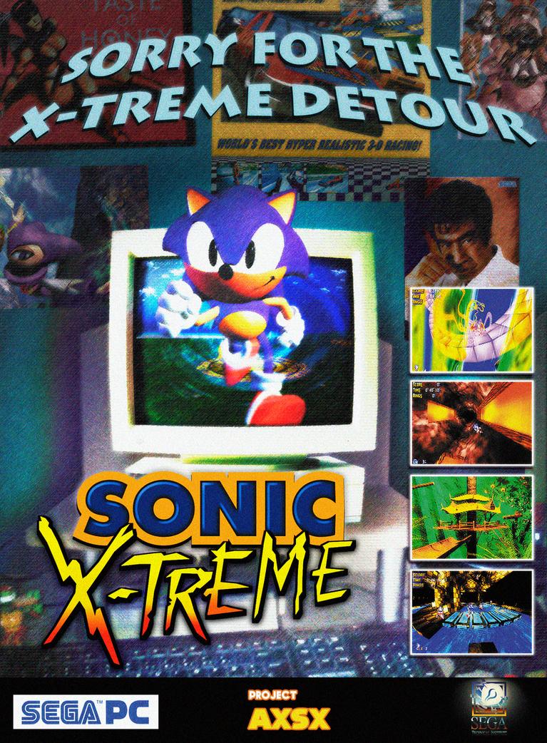AXSX Fake Ad- X-Treme Detour by DerZocker