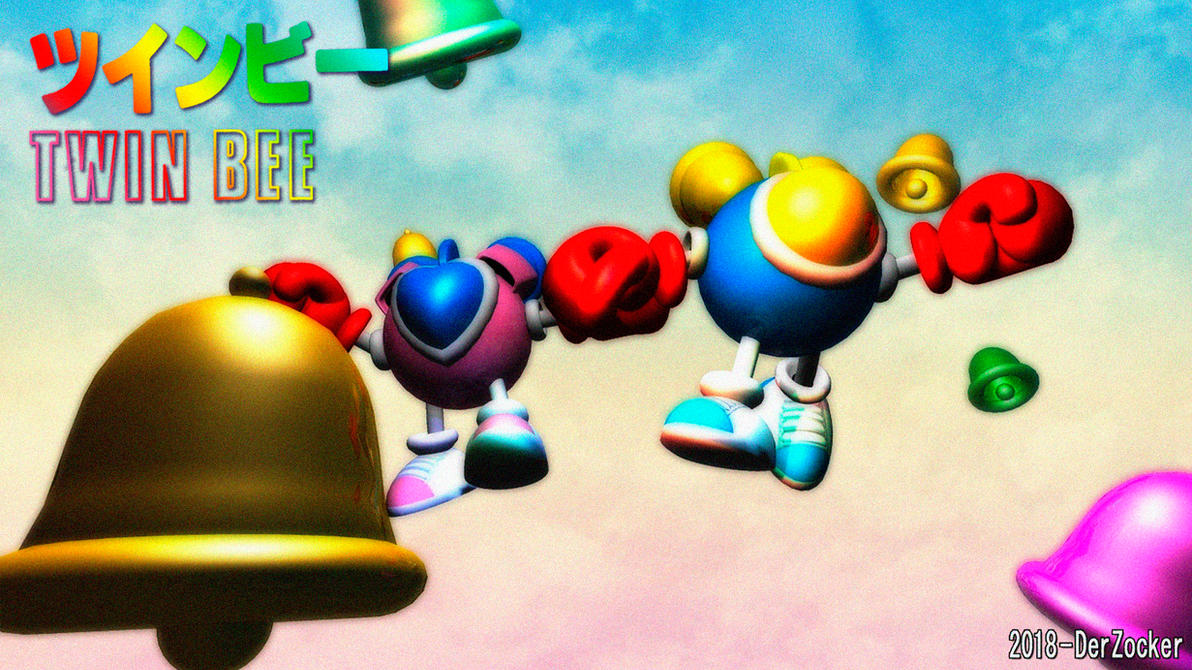 Simply3D - Twinbee and Winbee by DerZocker