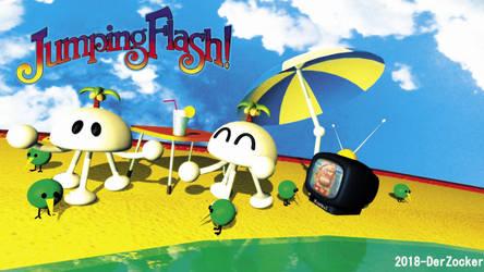 Jumping Flash - Muu Muu Beach Party by DerZocker