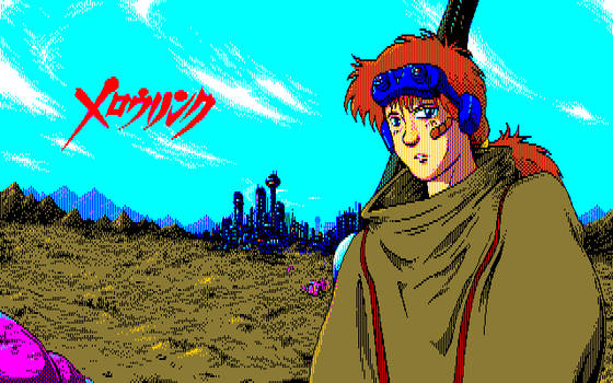 Armor Hunter Mellowlink - PC88 style