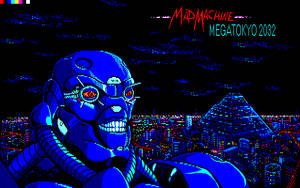 Mad Machine Megatokyo2032 - PC88