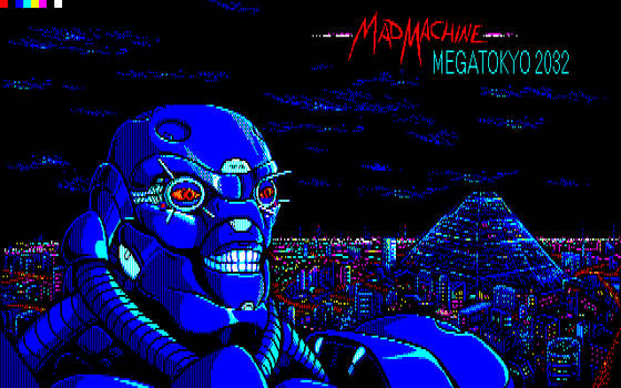 Mad Machine Megatokyo2032 - PC88