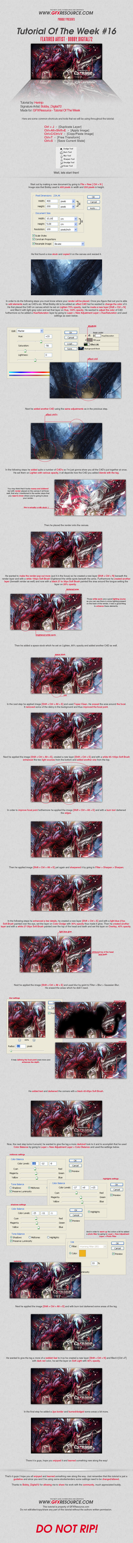 Maximum Carnage Tutorial by bobbydigital72