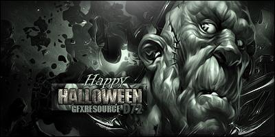 Happy Halloween from GFXR by bobbydigital72