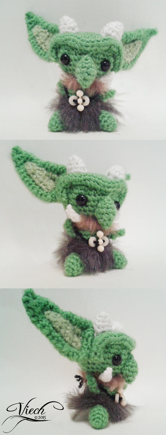 Amigurumi Villains: Goblin by Astaviech