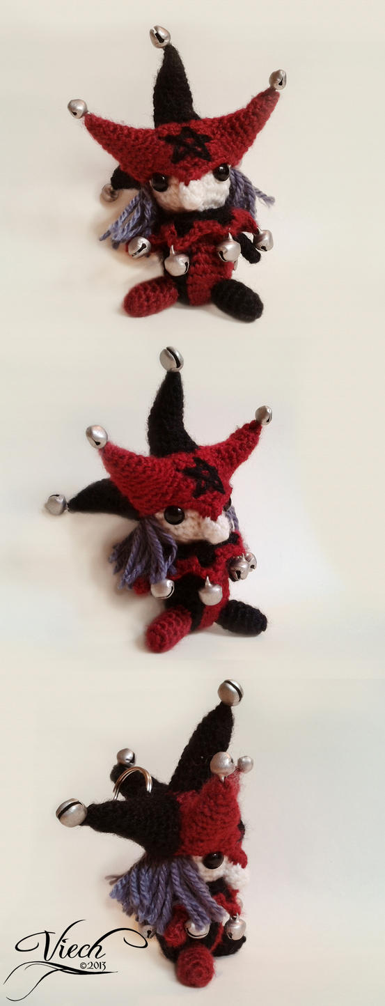 Amigurumi Villains: The Jester by Astaviech