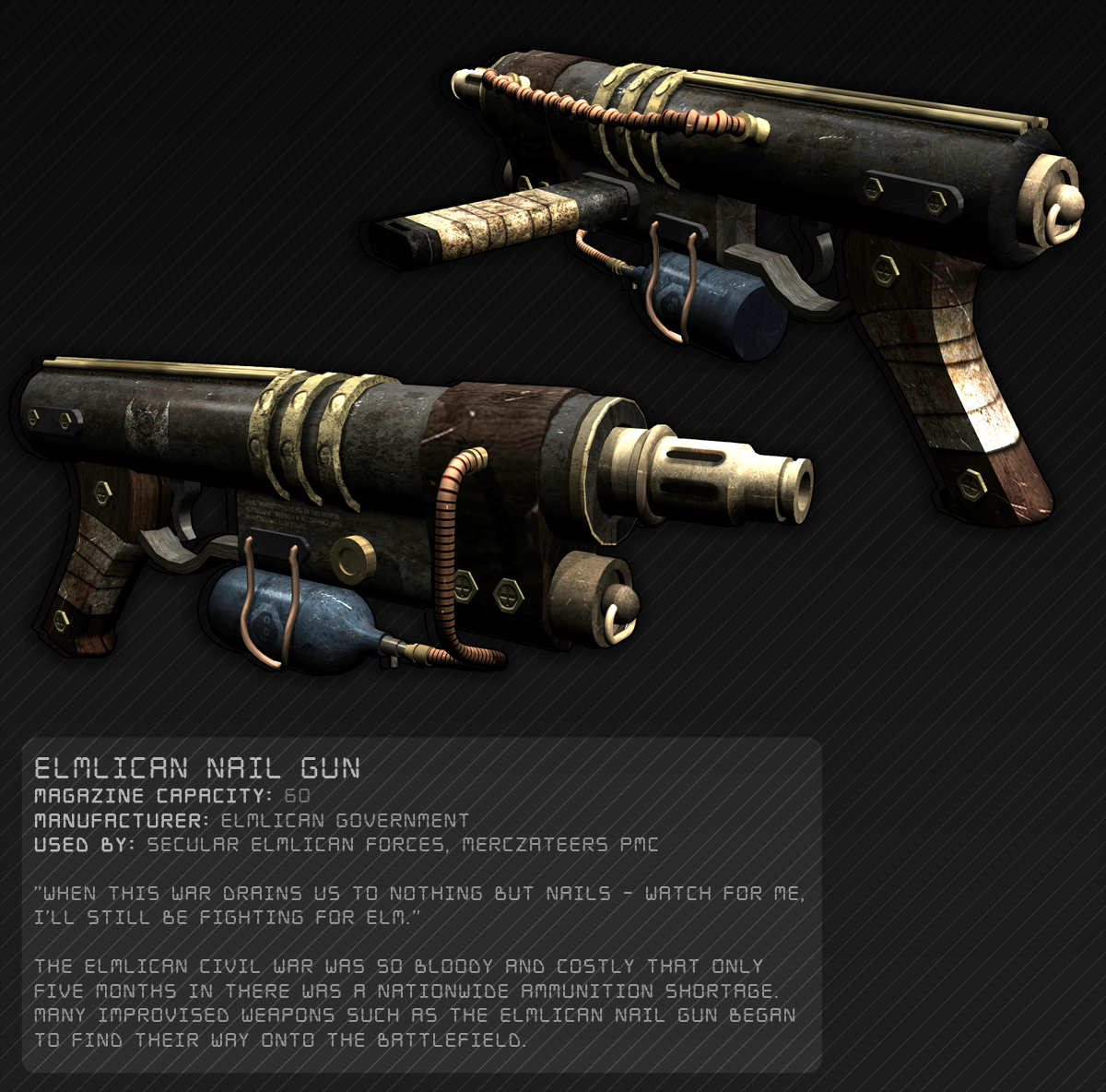 Elmlican nail gun by lenskiy32 on deviantart elmlican nail gun by lenskiy32 elmlican nail gun by lenskiy32 prinsesfo Image collections