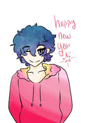 happy new year  by Moka-san18