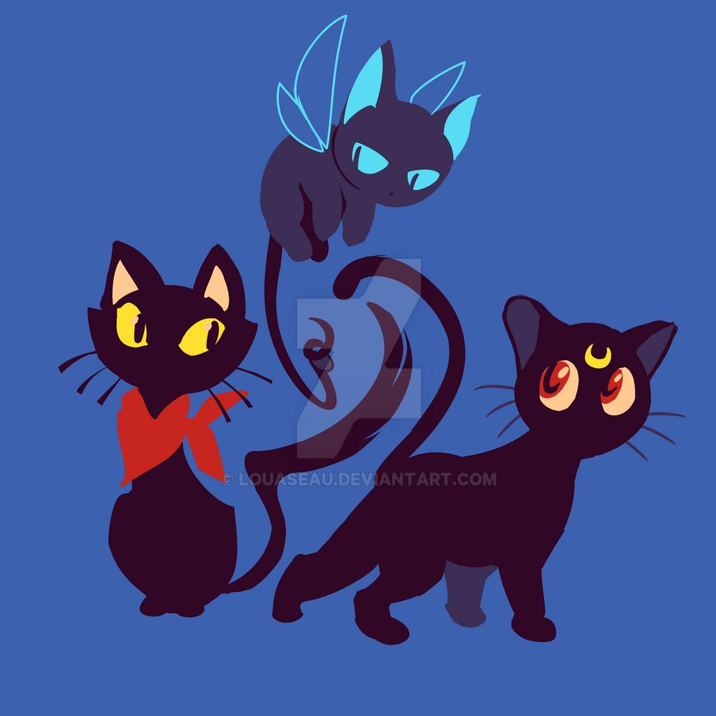 Black Cat Unitee - 17 novembre 2016 by Louaseau