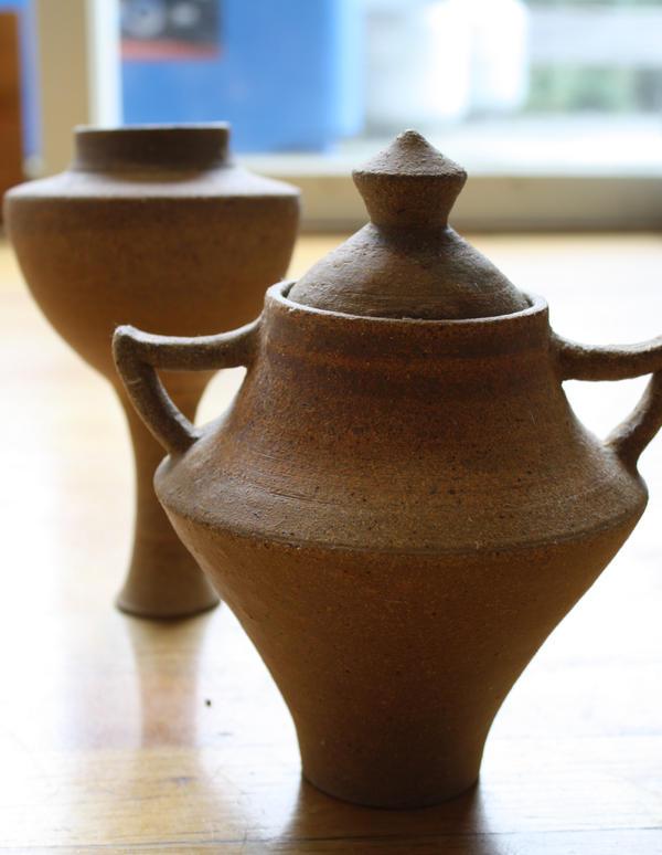 Unglazed Vases 2 by Fyrenitz