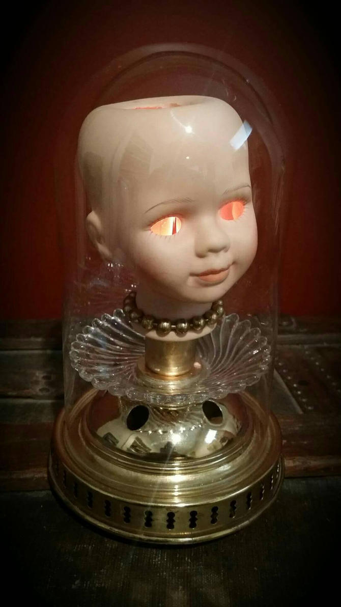Creepy Lamp By Madtinkerer ...