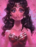 WonderWomanSketch by coreyart7