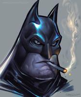 Batman Smoke by coreyart7