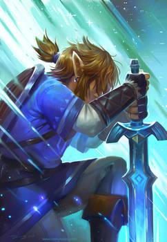 Legend of Zelda Breath of the Wild Speed Paint